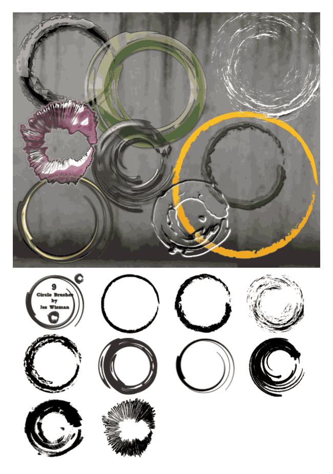 circle photoshop brushes free download