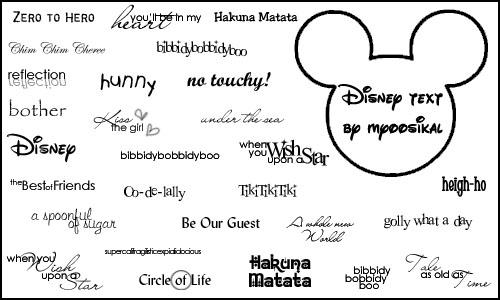 disney writing font Not happy at all, i bought this a while back because i am a baker and i knew eventually i would need to make disney letters well the day came and i was at crunch time and it was missing many letters and nubmers i was in a panic and had to make my own from scratch, which i didn't have time for this not happy at all.