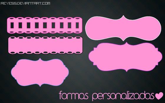 Formas Personalizadas