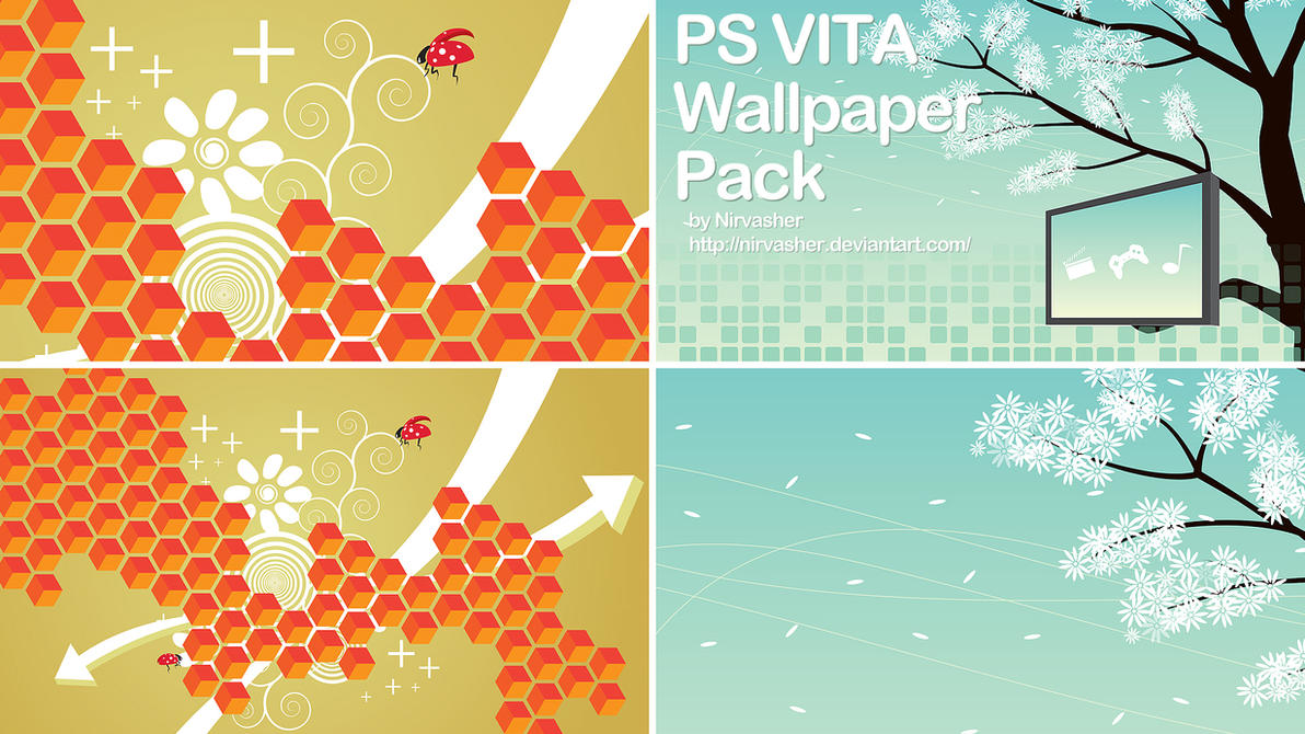 ps vita wallpaper pack by nirvasher on deviantart