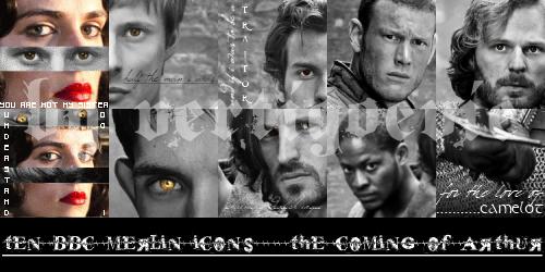 10 BBC Merlin Icons by vertigoevie