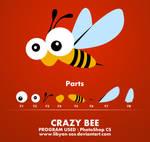 PSD - crazy bee
