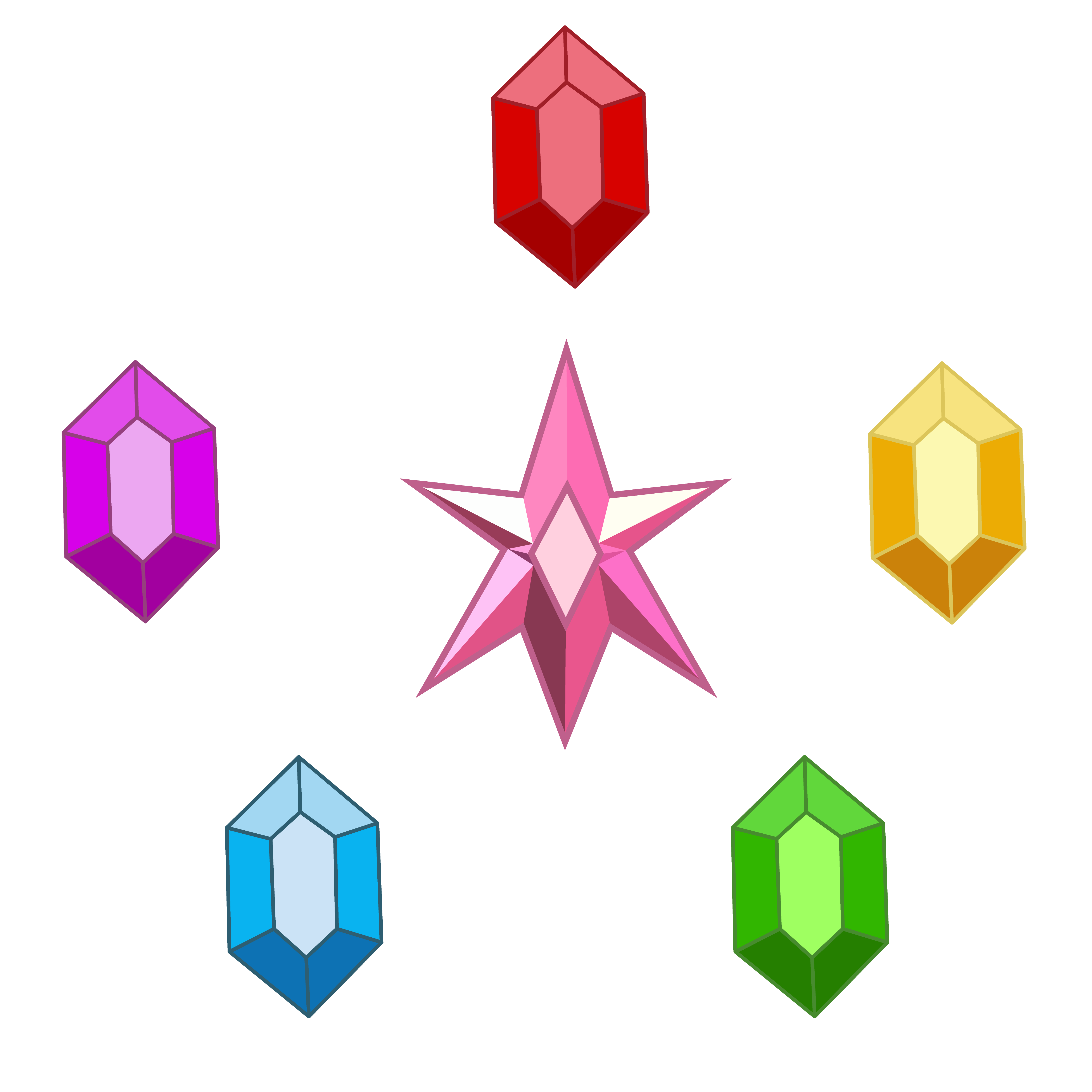 Elements Of Harmony (gems) By TechRainbow On DeviantArt