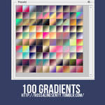 100 Gradients