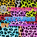 8 LEOPARD S TEXTURES