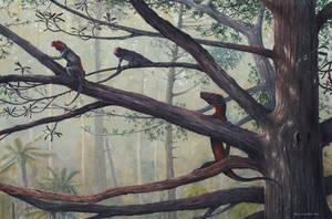 Eorasaurus and Suminias by MaximSinitsa