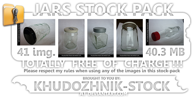 Jars stock set