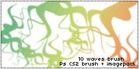 Waves Brush by dijbrill
