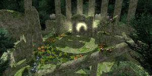 [MMD] PDFT Forest Ruins Stage Download
