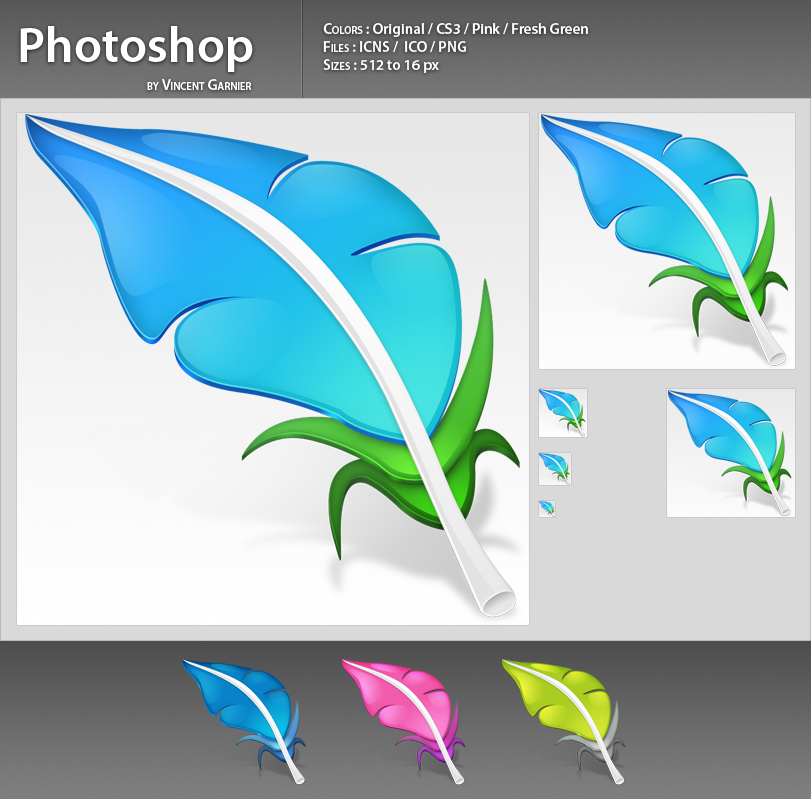 Photoshop Icons by Benjigarner
