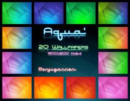 Aqua' Wallpapers by Benjigarner