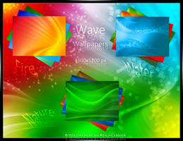 Wave Wallpapers by Benjigarner