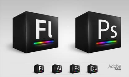 Adobe Cubes by Brad426