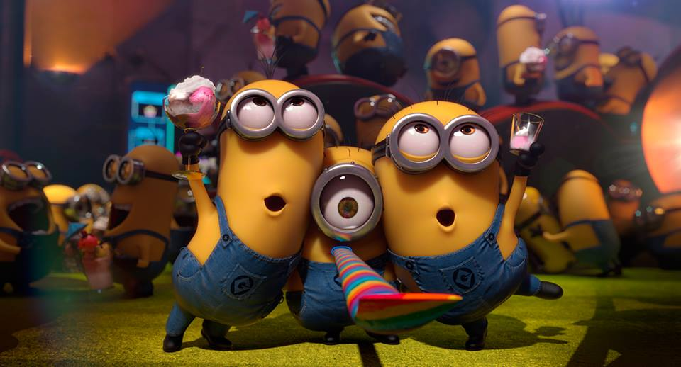 Despicable Me Minions Saying Papoy Song Minions version  by