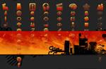 Orange Jelly - PS3 Theme