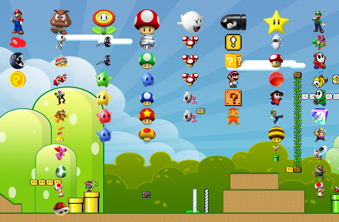 Super Mario - PS3 Theme by yorksensation on DeviantArt
