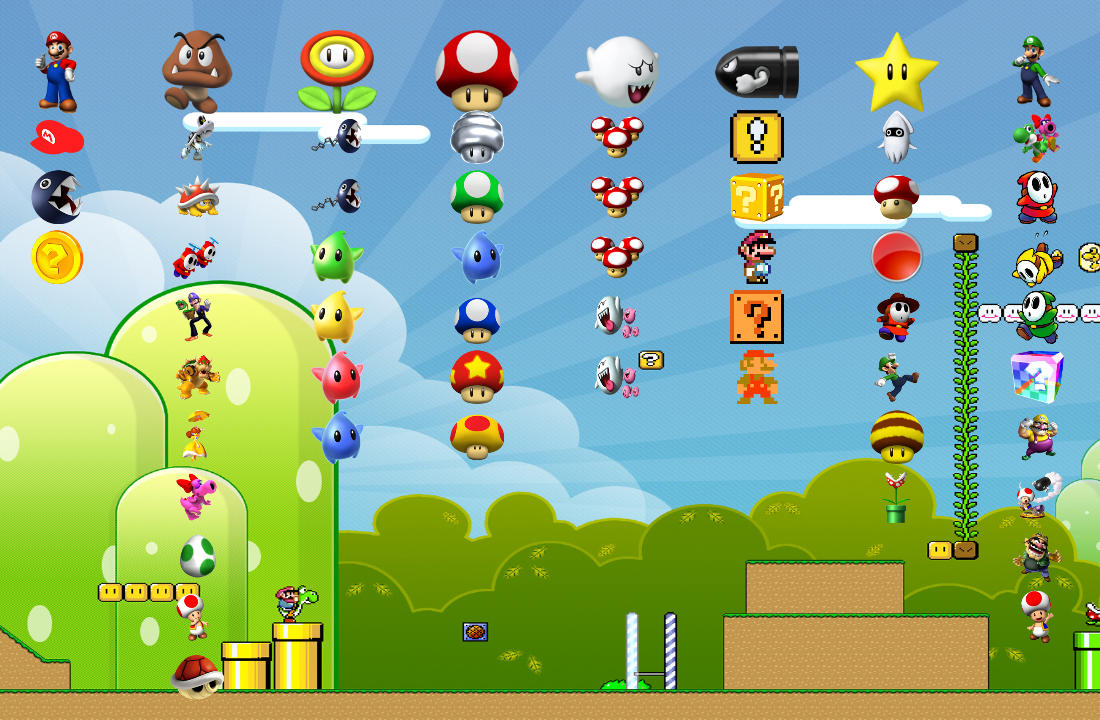 Mario Games For Ps3 : Super mario ps theme by yorksensation on deviantart