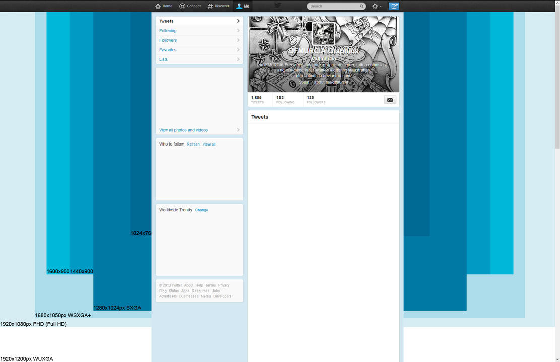 Twitter Background Template By Dfmurcia On Deviantart