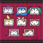 Rocketdock: Vocaloid NicoNico Heads