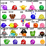 Static emote pack by I-is-smart