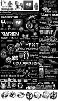 Celldweller Logos [Brush Set]