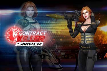 Contract Killer Sniper - Milla [XPS Model] by 972oTeV