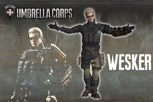 Umbrella Corps - Albert Wesker [XPS model]