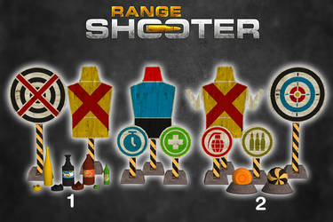 Range Shooter - Targets Pack [XPS Models] by 972oTeV