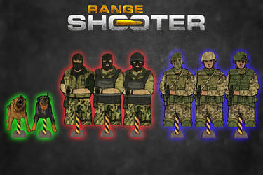 Range Shooter - Enemy Targets Pack [XPS Models] by 972oTeV
