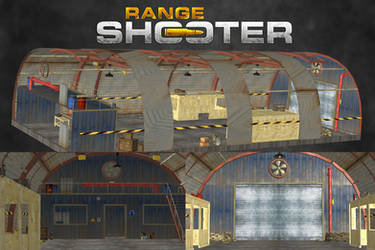 Range Shooter - Hangar [XPS Model] by 972oTeV