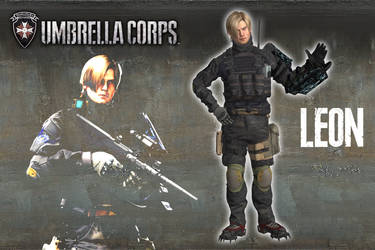 Umbrella Corps - Leon S. Kennedy [XPS model] by 972oTeV