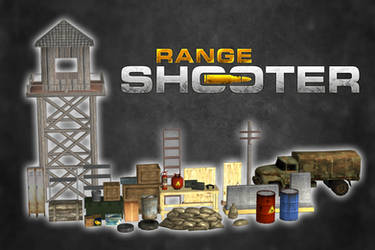 Range Shooter - Objets Pack [XPS-Obj Models] by 972oTeV