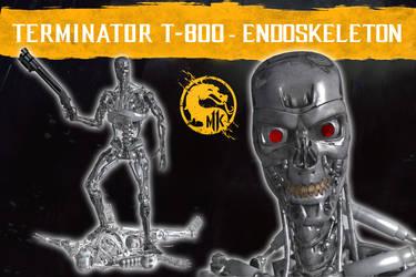 MK 11 - Endoskeleton T-800 (Texture Modif) [XPS]