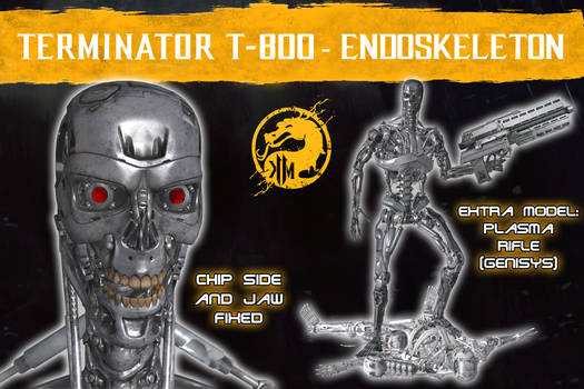 MK 11 - Endoskeleton T-800(Modif) and Extras [XPS]