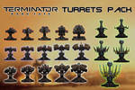 Terminator: Dark Fate - Turrets Pack [XPS] by 972oTeV