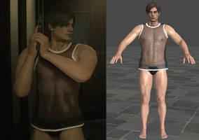 RE2 Remake - Leon Underwear - Style C [XPS]