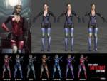 RE2 REMAKE - Claire Battlesuit + Variations [XPS]