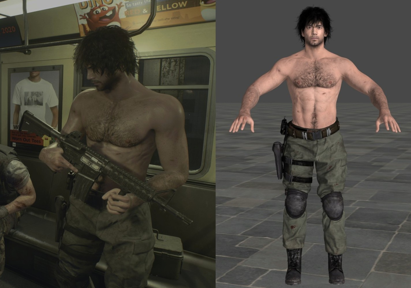 resident evil 3 remake carlos model