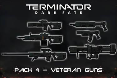Terminator Dark Fate - Gun Pack 4 - Veterans [XPS]