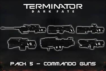 Terminator Dark Fate - Gun Pack 5 - Commando [XPS]