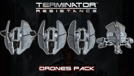 Terminator Resistance - Drones Pack [XPS]