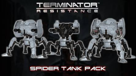 Terminator Resistance - Spider Tank Pack [XPS]