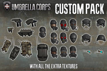 Umbrella Corps - Custom Pack [XPS Models] by 972oTeV