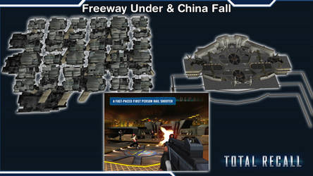 Total Recall - Freeway and ChinaFall [XPS Models] by 972oTeV