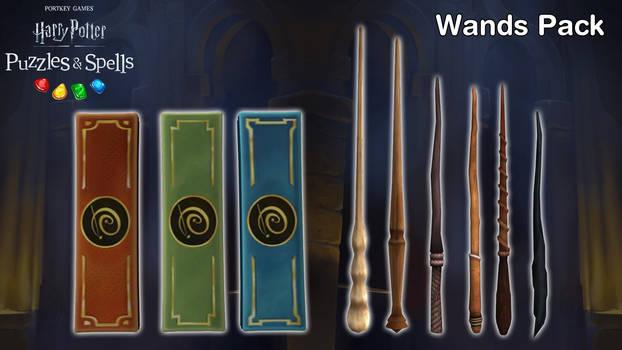 Harry Potter: P.S. - Wands Pack [XPS Models]