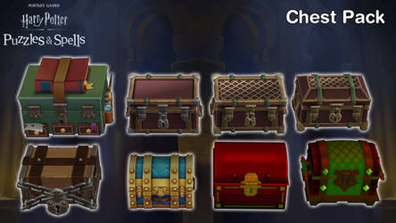 Harry Potter: P.S. - Chest Pack [XPS Models]