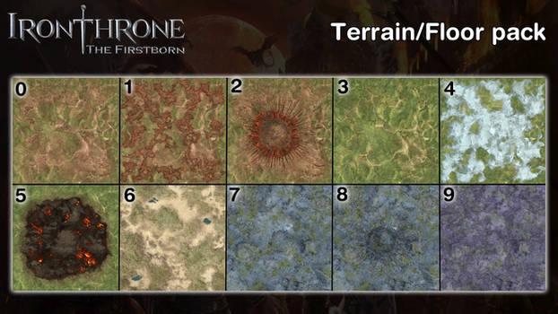 Iron Throne:The Firstborn - Terrain-Floors [XPS]