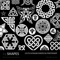 Celtic and Pagan Shapes by Bloody-Goodbyes