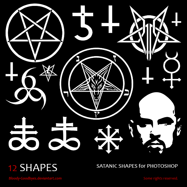 Satanic Shapes By Bloody Goodbyes On Deviantart