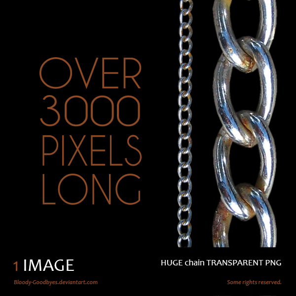 Rusty Chain Transparent PNG by Bloody-Goodbyes